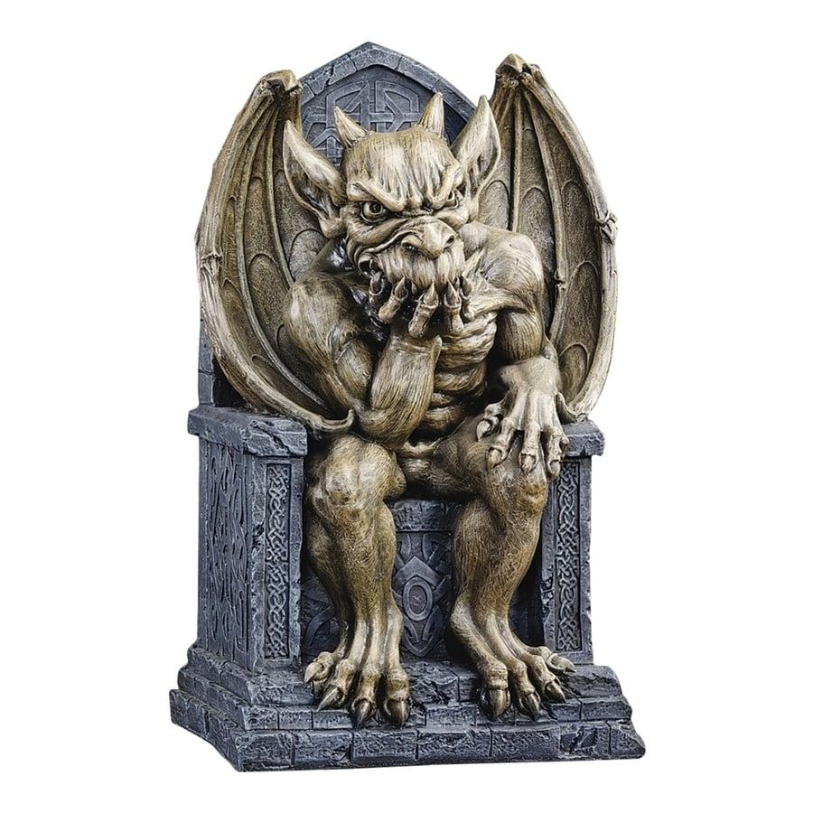 Shop design toscano hemlock 39 s gargoyle freestanding for Gargoyle decor