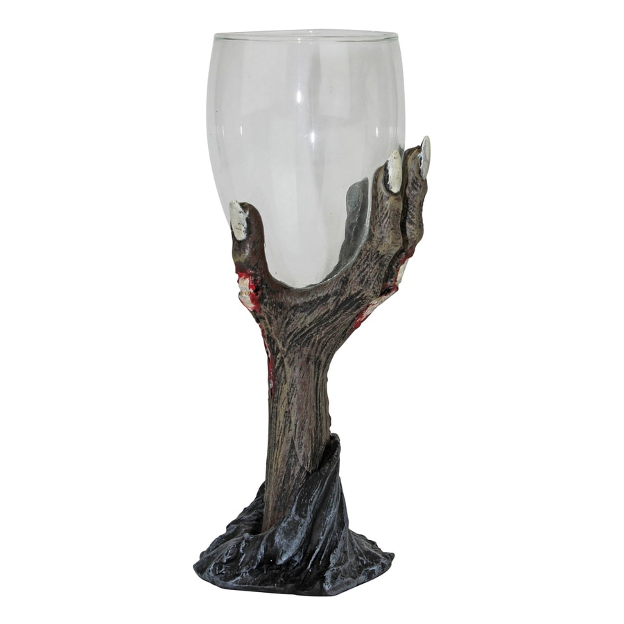 Design Toscano Toast Of The Zombie Tabletop Zombie Goblet
