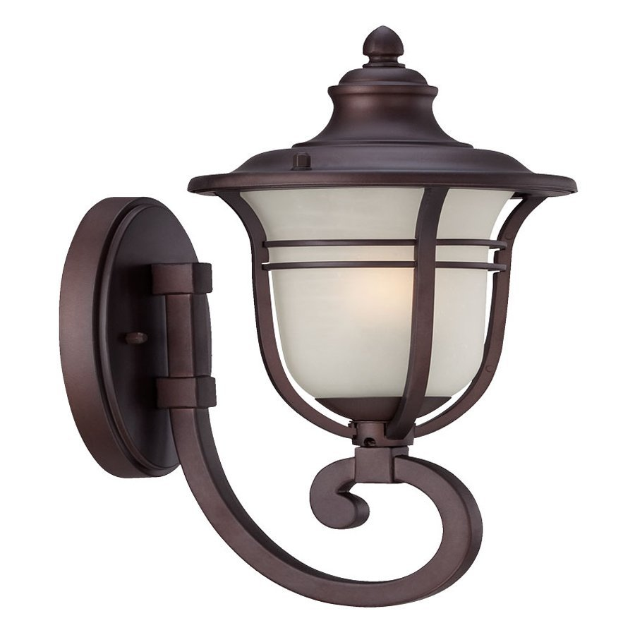 Acclaim Lighting Montclair 13.75-in H Architectural Bronze Outdoor Wall Light
