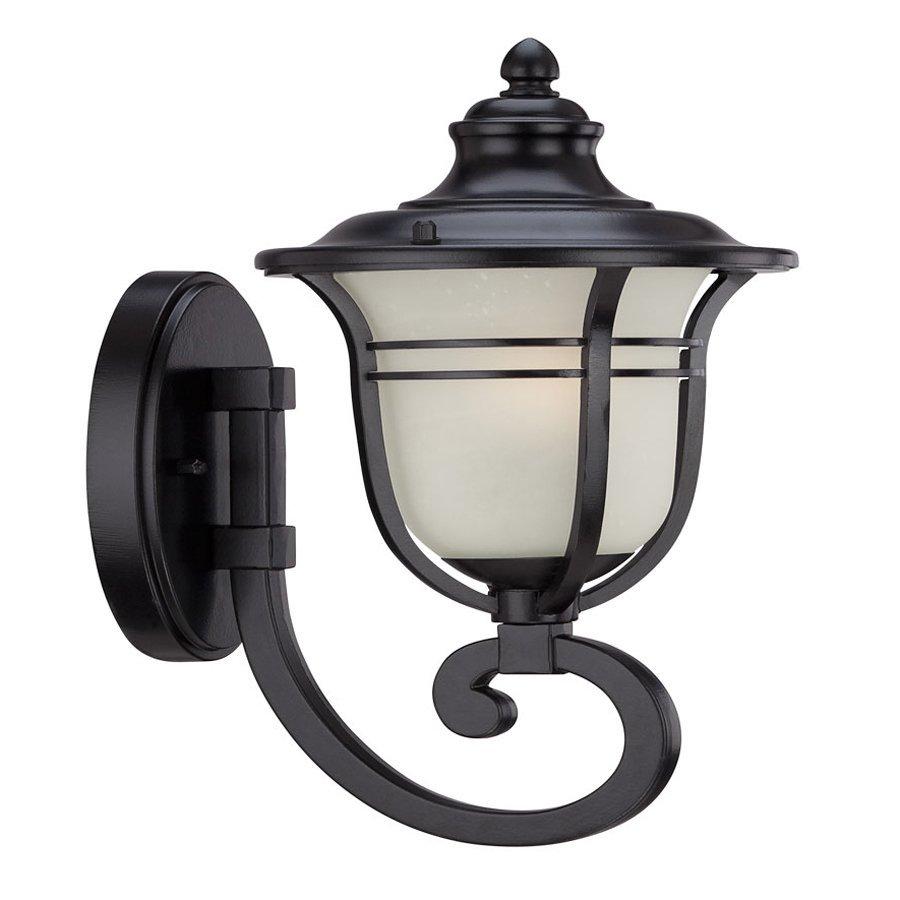 Acclaim Lighting Montclair 13.75-in H Matte Black Outdoor Wall Light