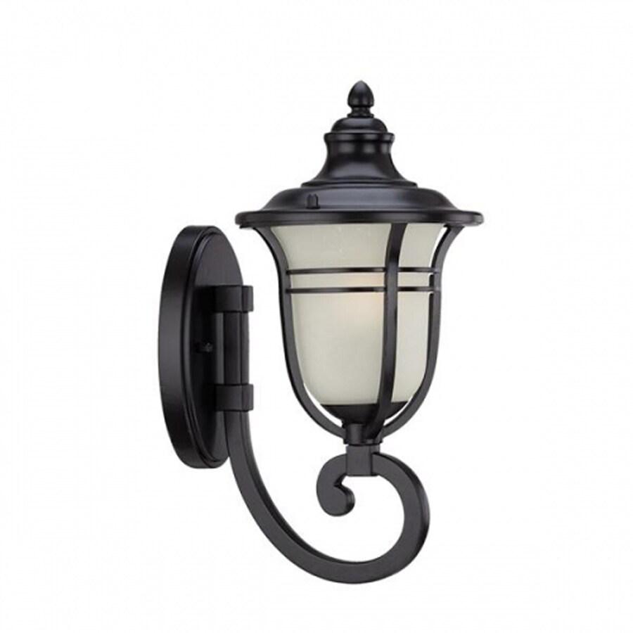 Acclaim Lighting Montclair 21.5-in H Matte Black Outdoor Wall Light