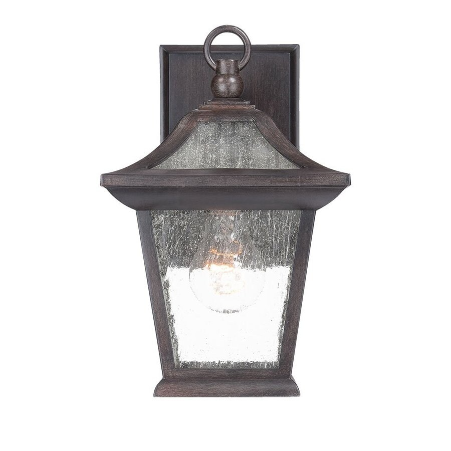 Acclaim Lighting Aiken 11-in H Black Coral Outdoor Wall Light