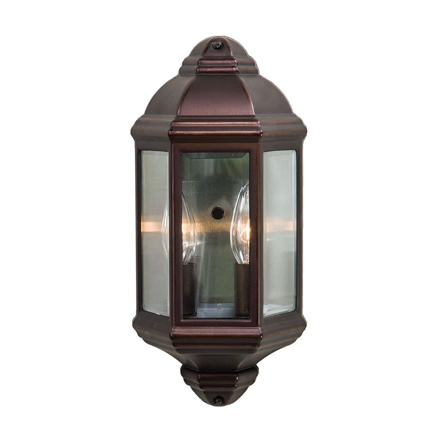 shop acclaim lighting 14 5 in h architectural bronze