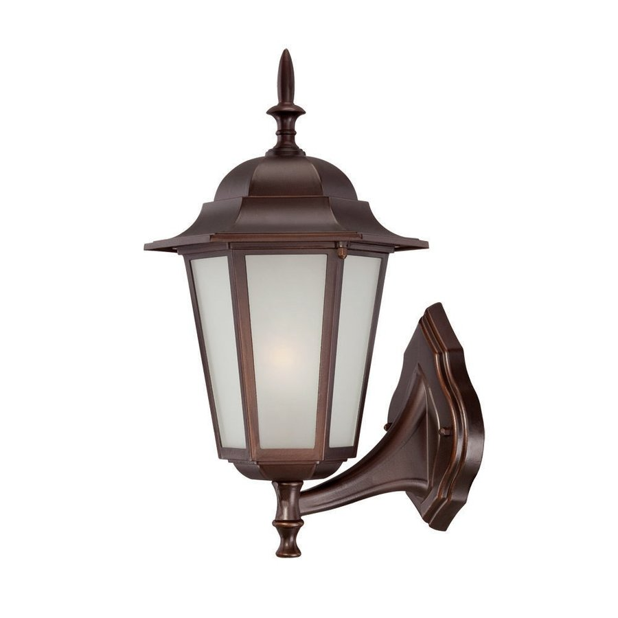 Acclaim Lighting Camelot 16-in H Architectural Bronze Outdoor Wall Light