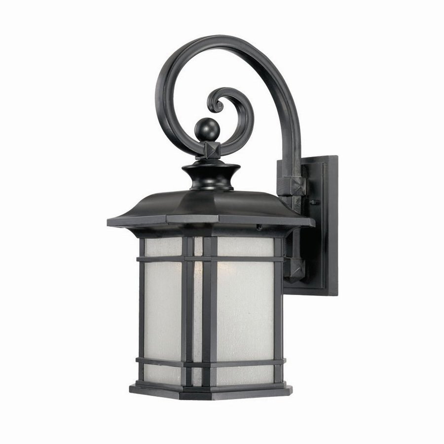 Acclaim Lighting Somerset 18.75-in H Matte Black Outdoor Wall Light