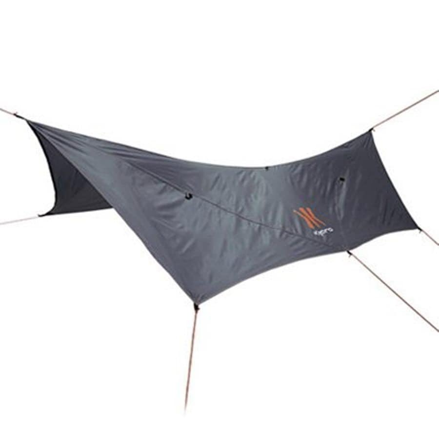 Kijaro 90.6-in W x 141.7-in L Tlou African Gray/Victoria Desert Orange Residential Nylon Rectangle Shade Sail