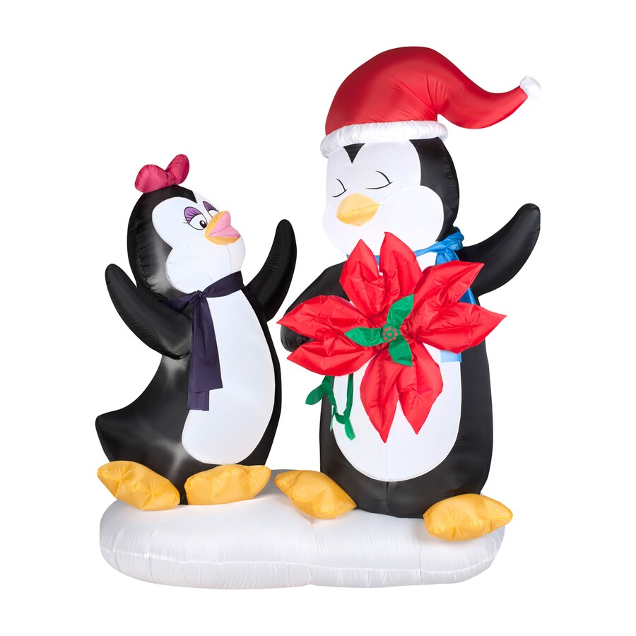 Gemmy 6-ft x 4.92-ft Lighted Penguin Christmas Inflatable
