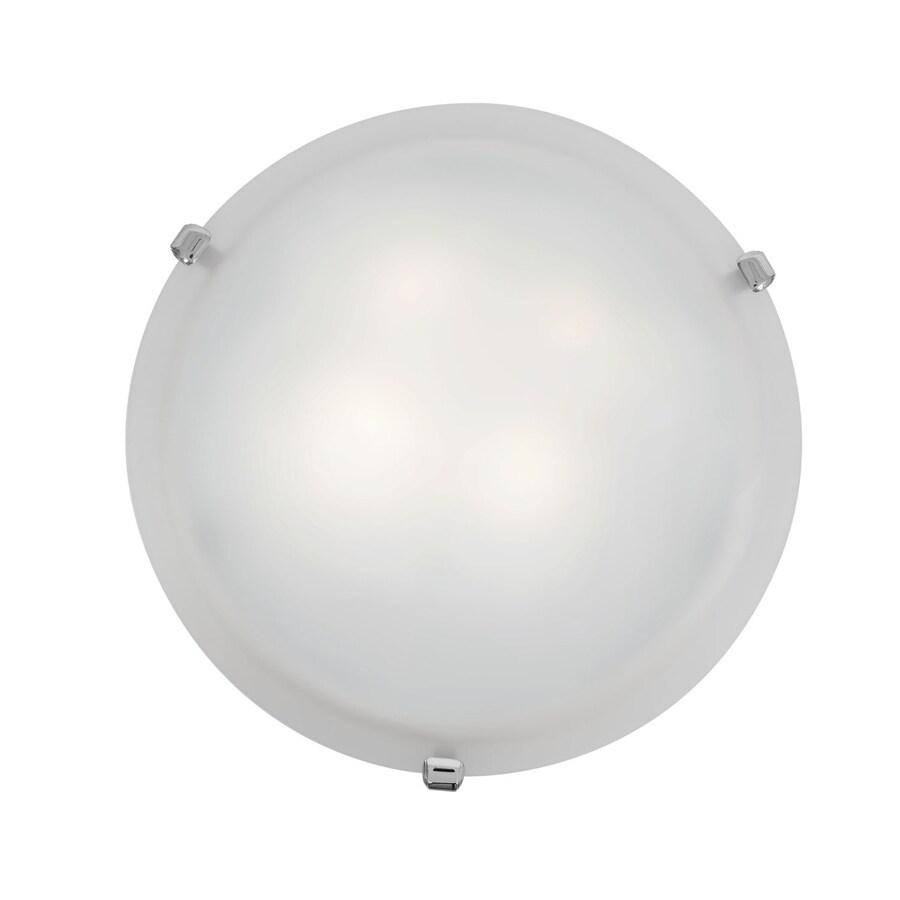 Access Lighting Mona 12-in W Chrome Ceiling Flush Mount Light