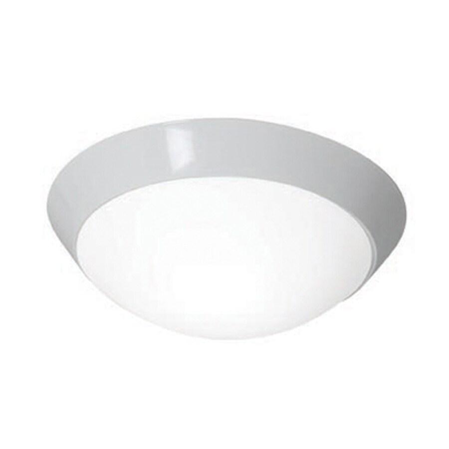 Access Lighting Cobalt 15-in W White Ceiling Flush Mount Light