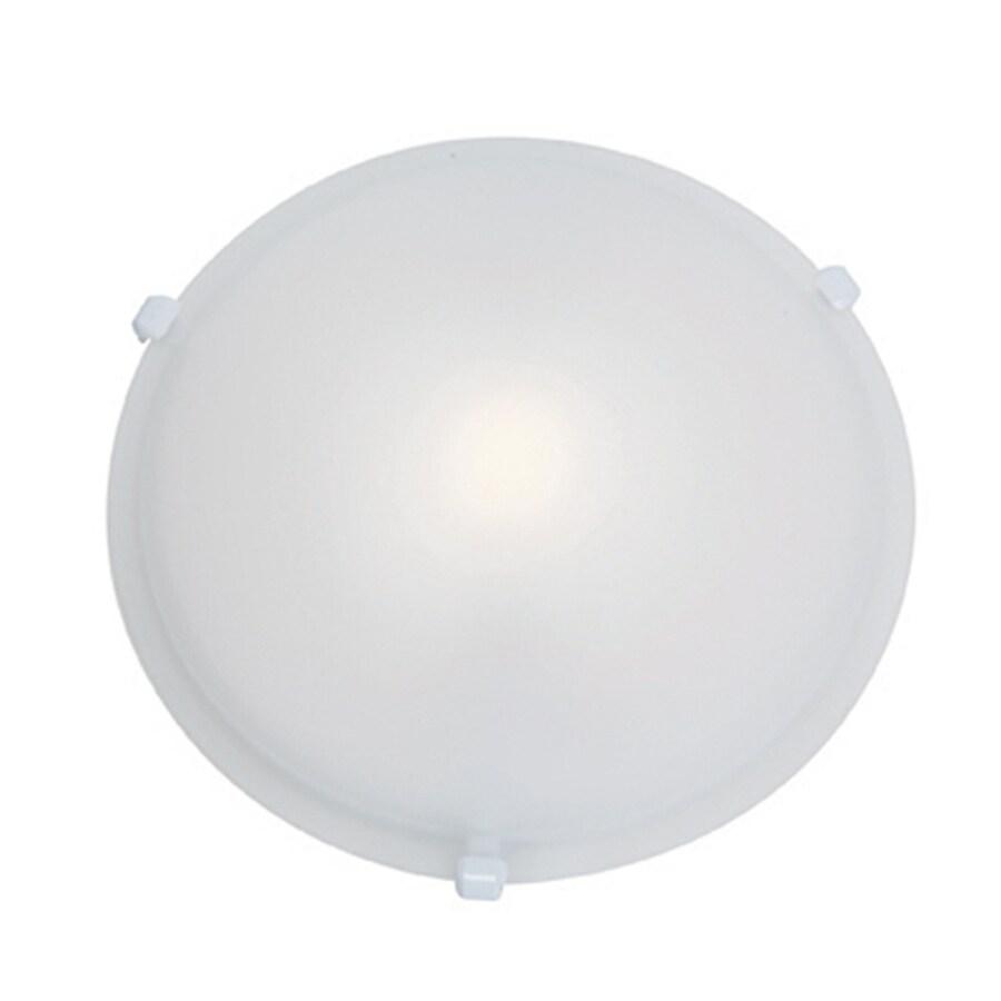 Access Lighting Nimbus 16-in W White Ceiling Flush Mount Light