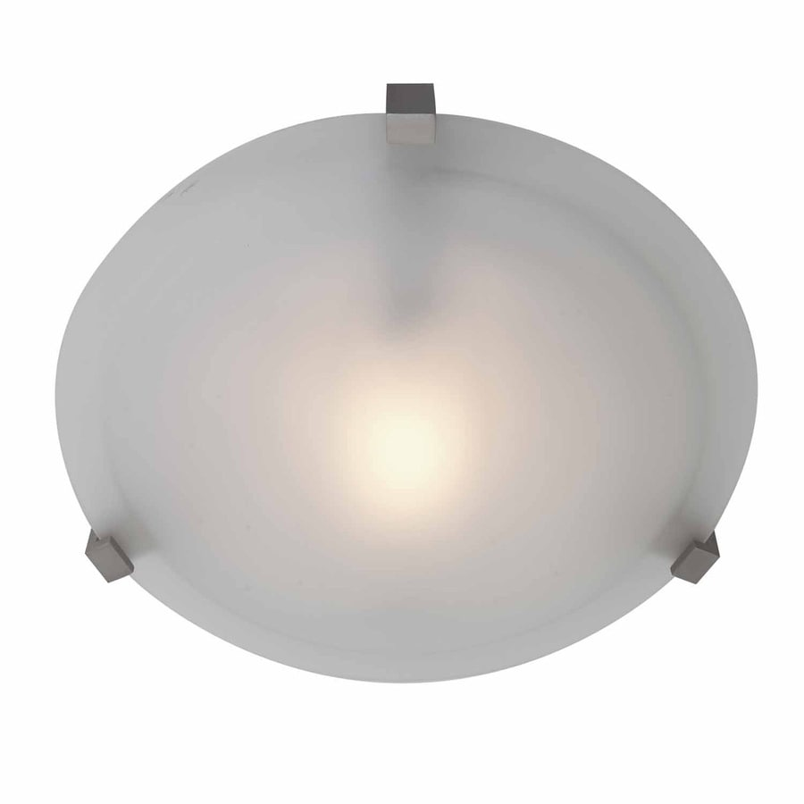 Access Lighting Cirrus 12.25-in W Satin Ceiling Flush Mount Light