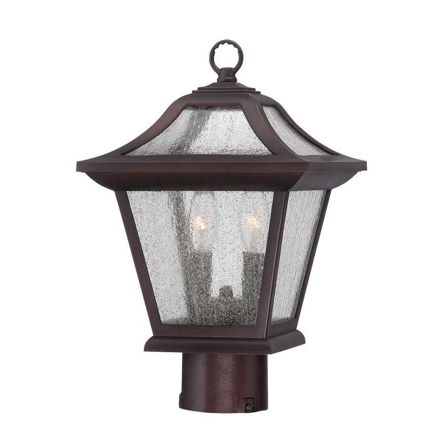 Acclaim Lighting Aiken 15-in H Architectural Bronze Post Light