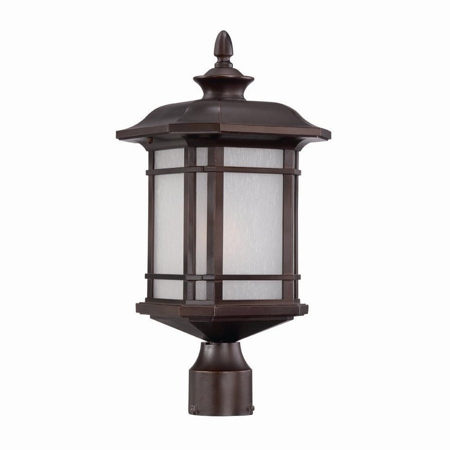 Acclaim Lighting Somerset 19.5-in H Architectural Bronze Post Light