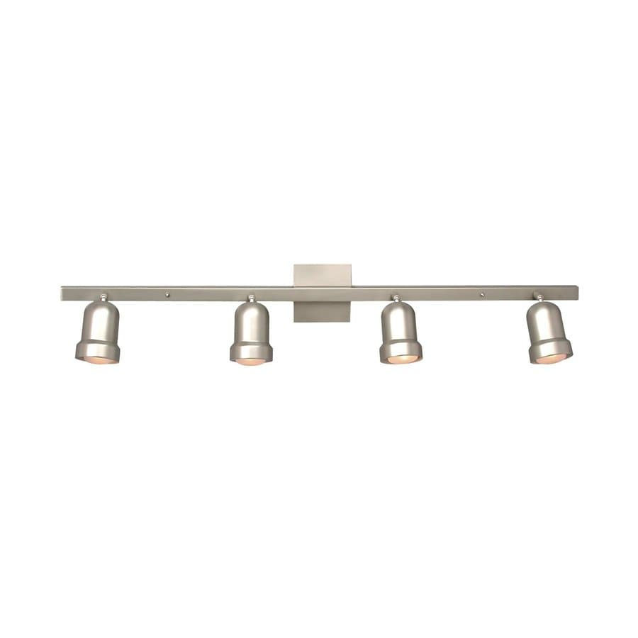 Galaxy 4-Light 40-in Pewter Fixed Track Light Kit