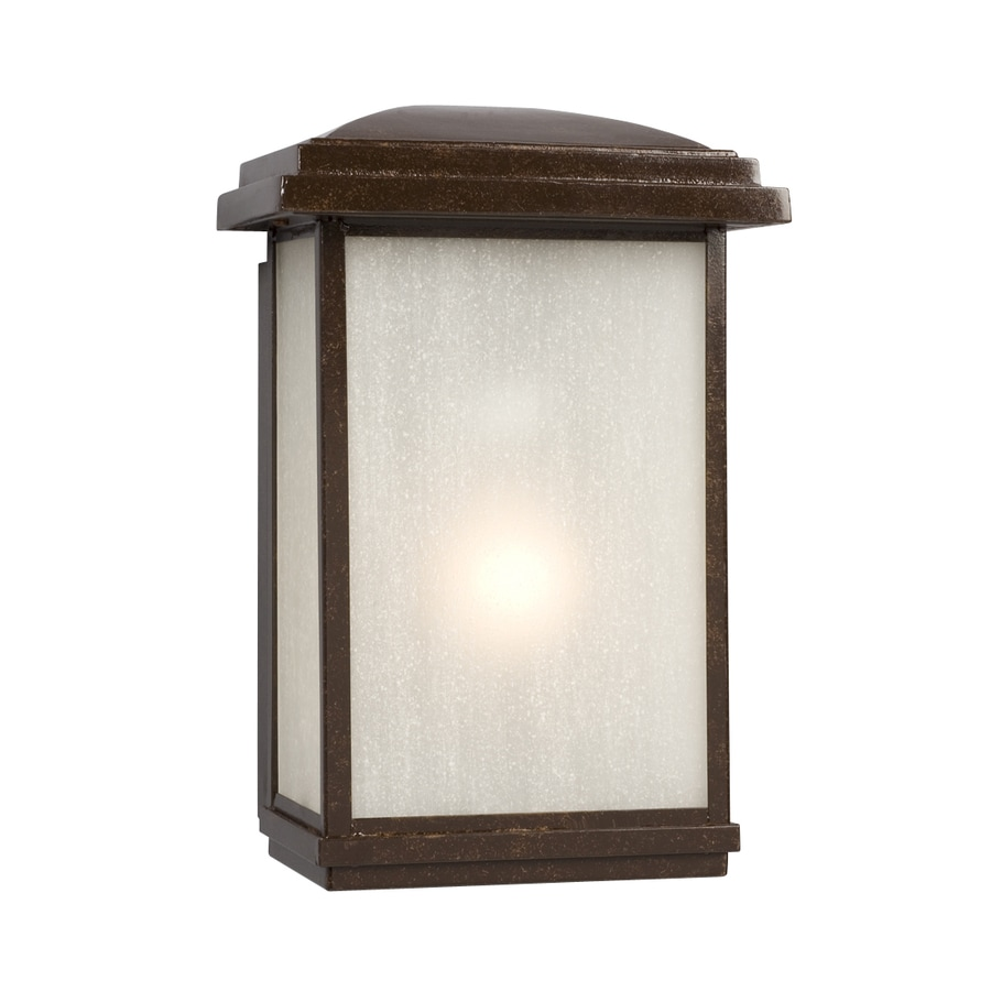 Galaxy 12.75-in H Bronze Outdoor Wall Light