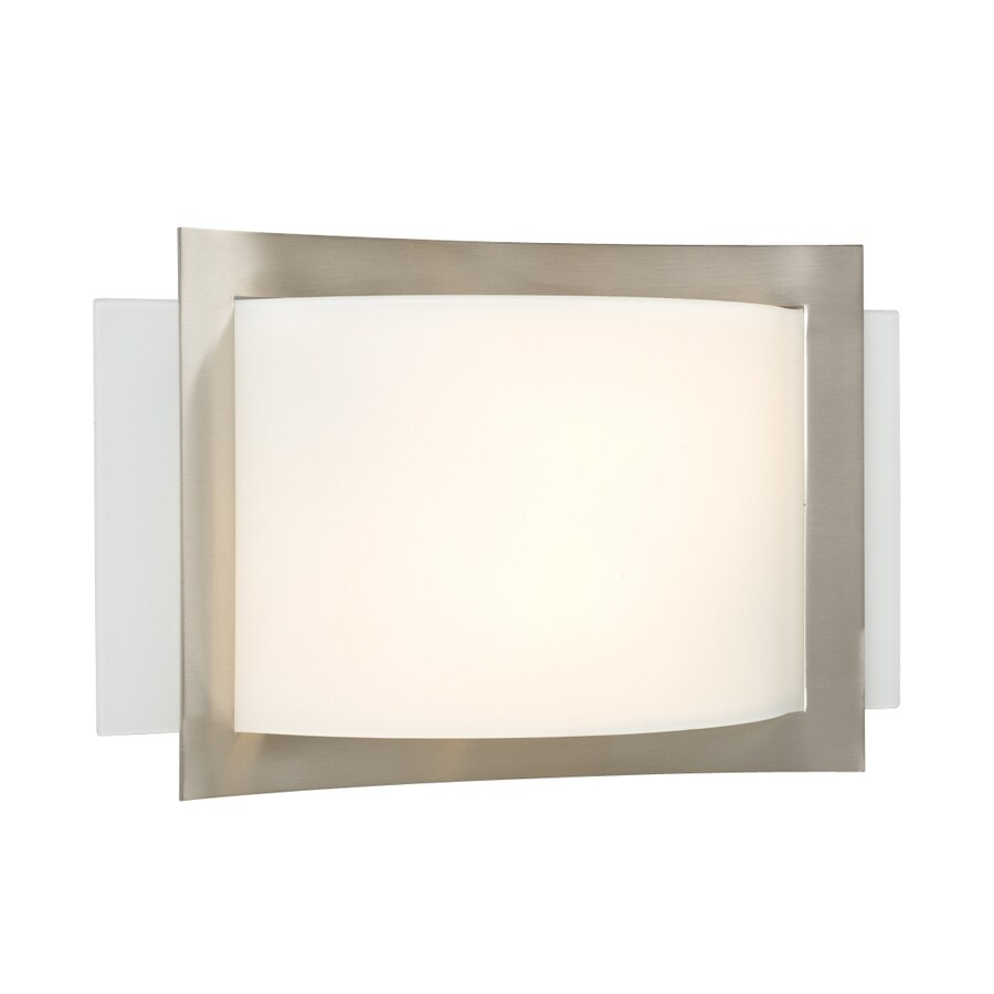 Galaxy 13.5-in W 1-Light Brushed Nickel Pocket Wall Sconce