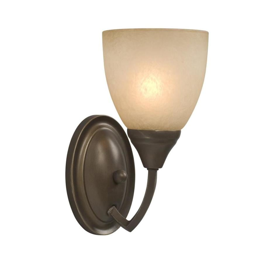 Adjustable Wall Sconce Lowe S : Shop Galaxy Chelsey 5-in W 1-Light Tuscany Arm Wall Sconce at Lowes.com