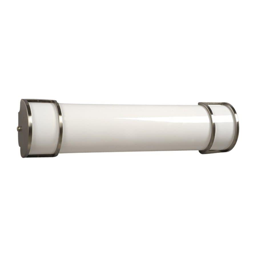Galaxy 1-Light Brushed Nickel Standard Bathroom Vanity Light