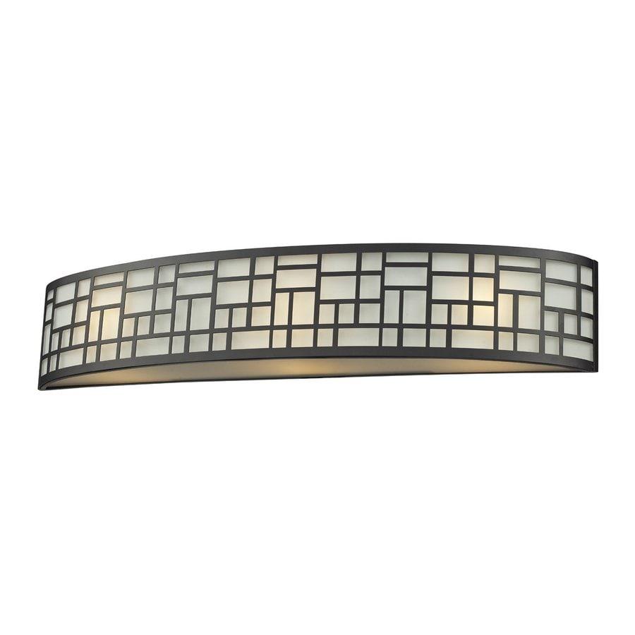 Z-Lite 1-Light Elea Bronze Bathroom Vanity Light