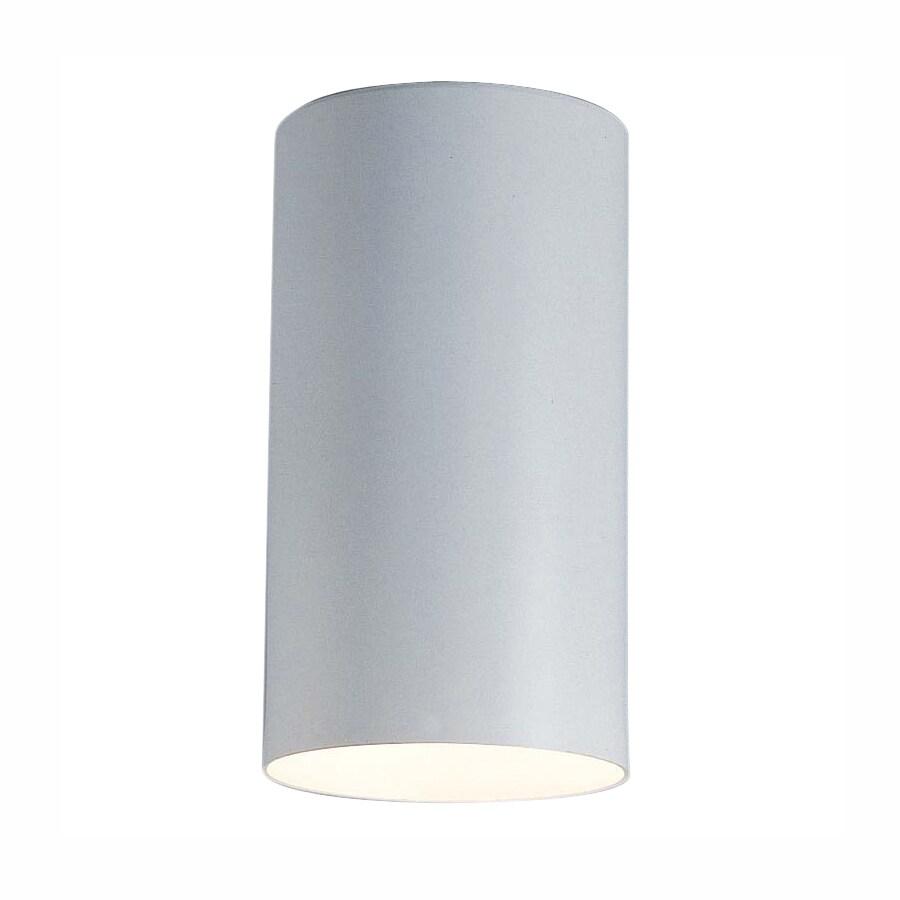 Volume International 4.5-in W White Ceiling Flush Mount Light