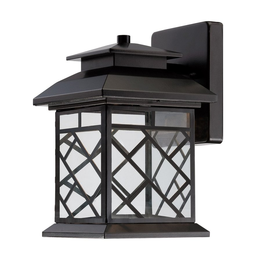 Designer's Fountain Woodmere 11-in H LED Oil Rubbed Bronze Outdoor Wall Light ENERGY STAR