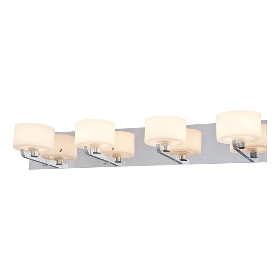 DVI 4-Light Haida Chrome Bathroom Vanity Light