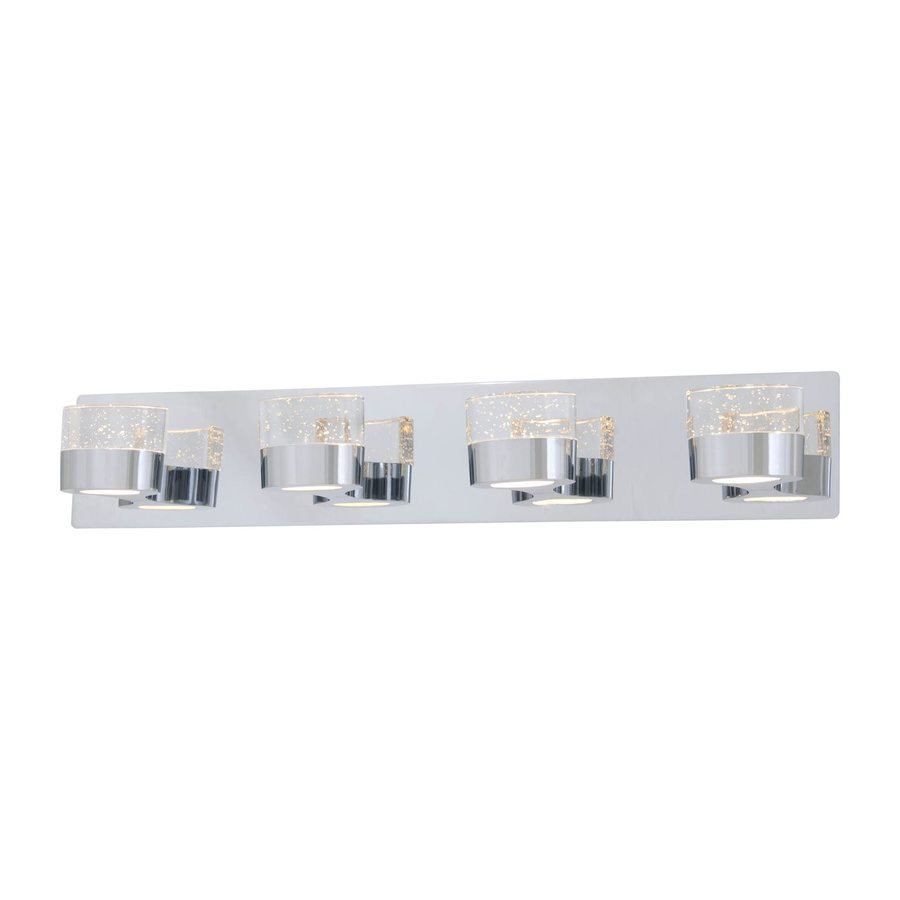 DVI 4-Light Neptune Chrome Bathroom Vanity Light