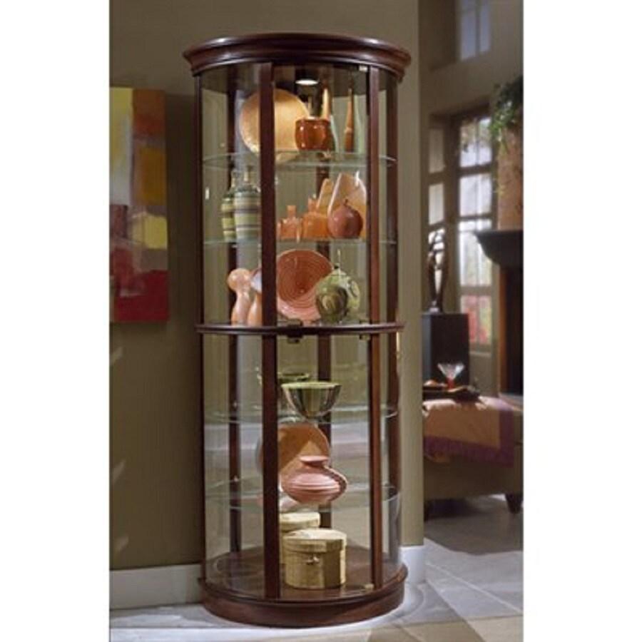 Shop Pulaski Preference Half Round Curio Cabinet At Lowes Com