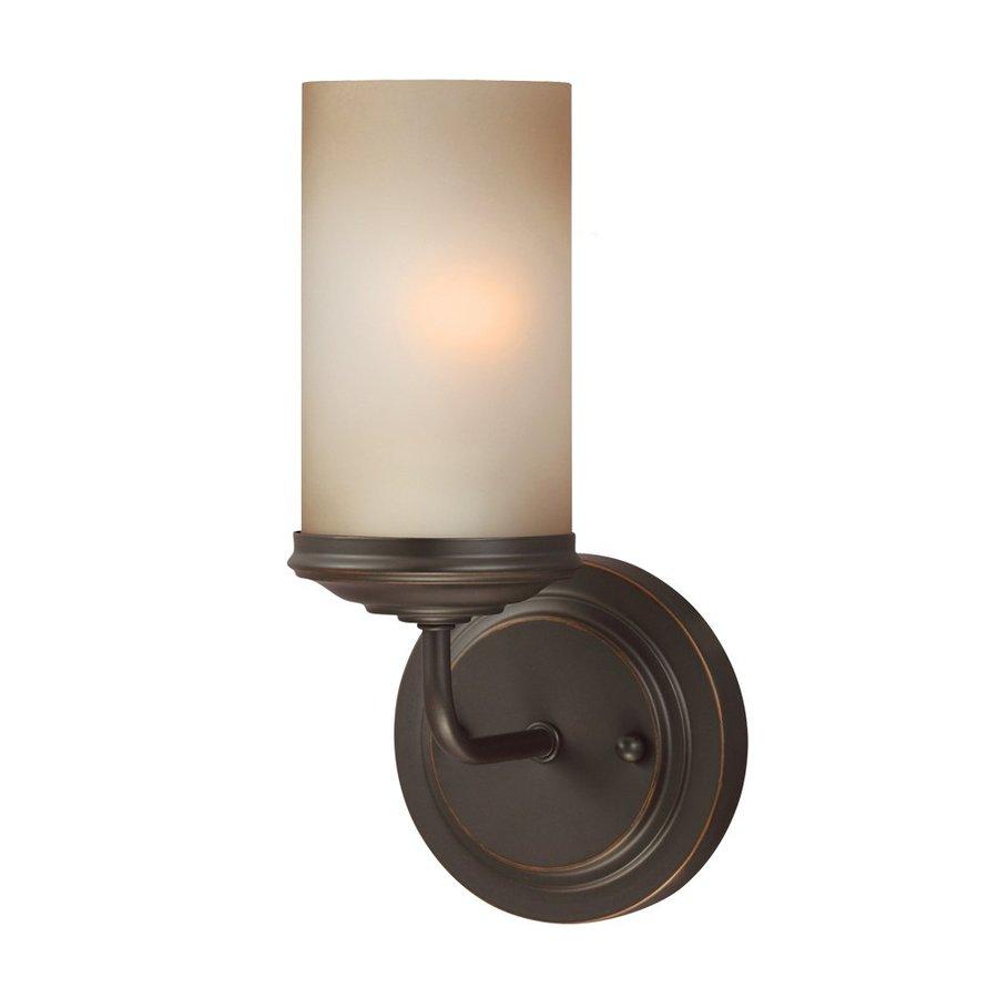 Sea Gull Lighting 1-Light Sfera Autumn Bronze Bathroom Vanity Light
