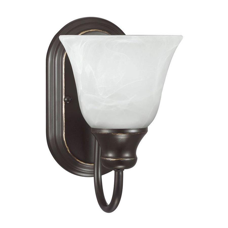 Sea Gull Lighting 1-Light Windgate Heirloom Bronze Bathroom Vanity Light