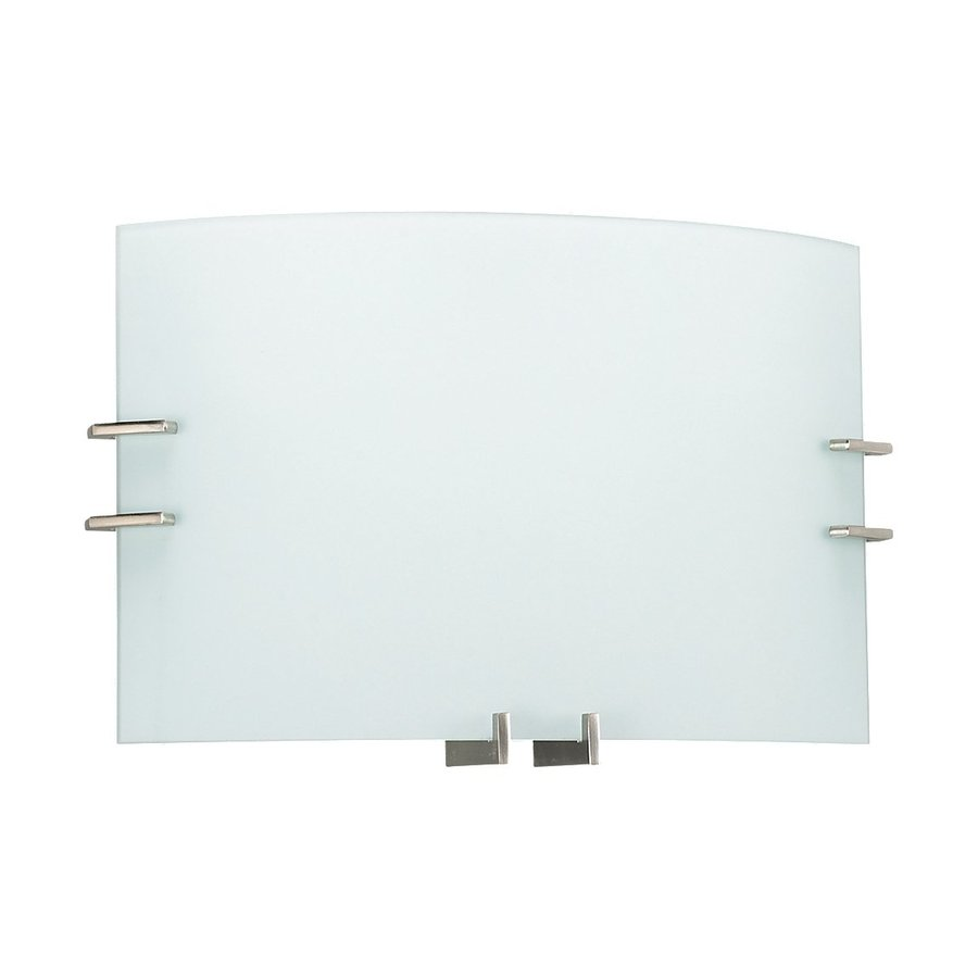 Sea Gull Lighting 1-Light Brushed Nickel Bathroom Vanity Light