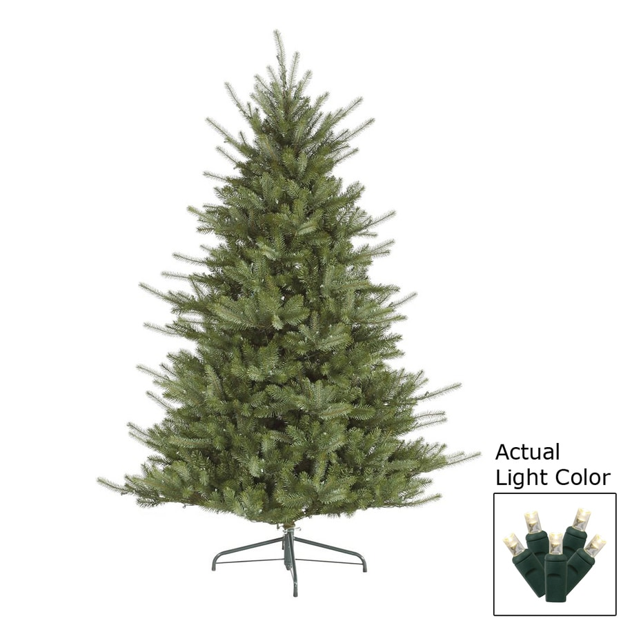 Vickerman 7 5 ft pre lit colorado spruce green artificial christmas