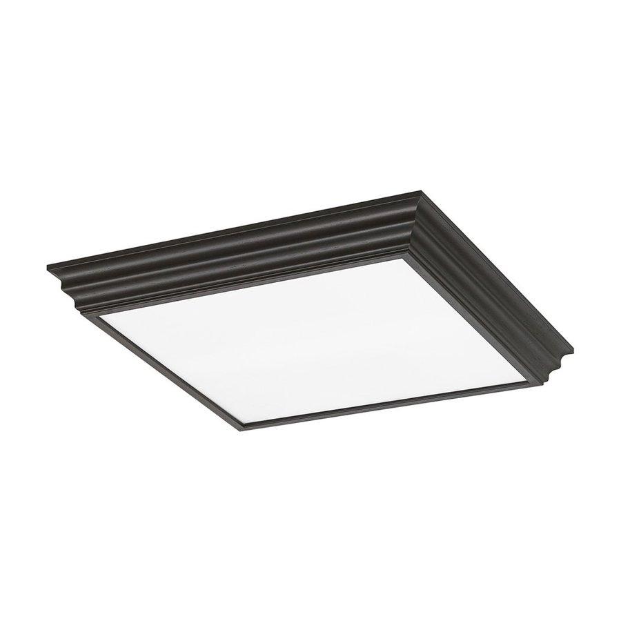gull lighting decorative drop lens espresso ceiling fluorescent light. Black Bedroom Furniture Sets. Home Design Ideas