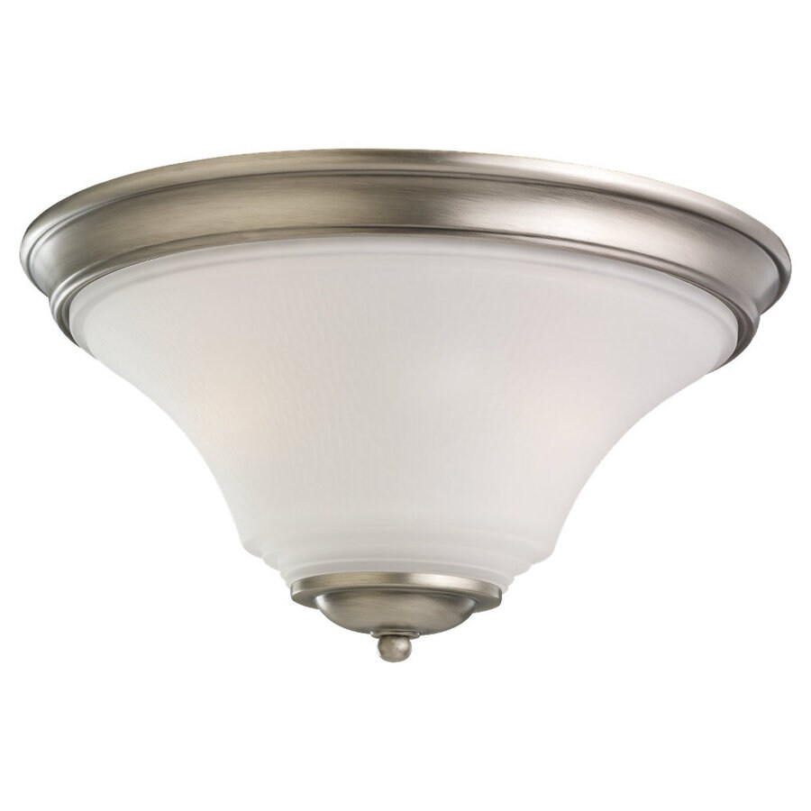 Sea Gull Lighting Somerton Antique Brushed Nickel Ceiling Fluorescent Light ENERGY STAR (Actual: 1-ft 3-in)