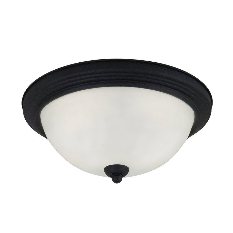 Sea Gull Lighting 10.5-in W Blacksmith Ceiling Flush Mount Light