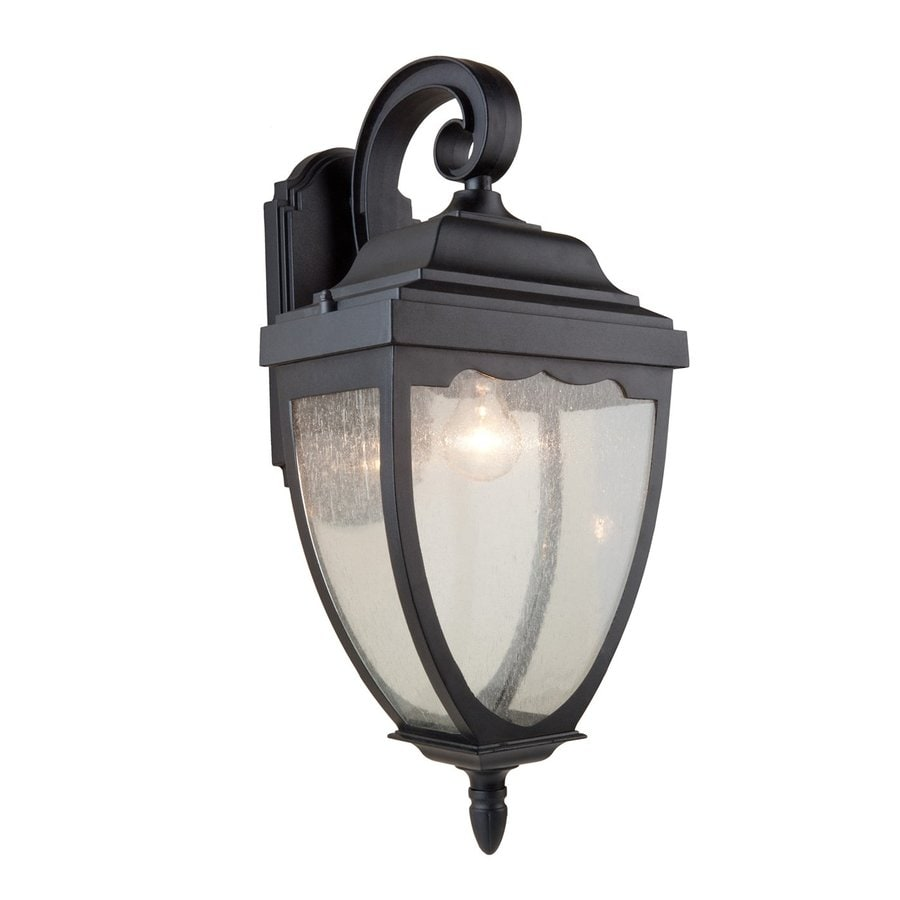 Artcraft Lighting Oakridge 24-in H Black Outdoor Wall Light