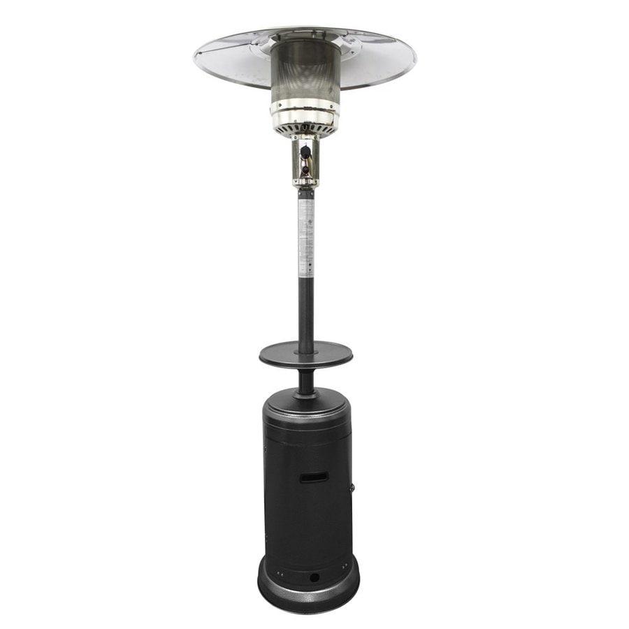 AZ  Patio 41000-BTU Hammered Silver Steel Floorstanding Liquid Propane Patio Heater