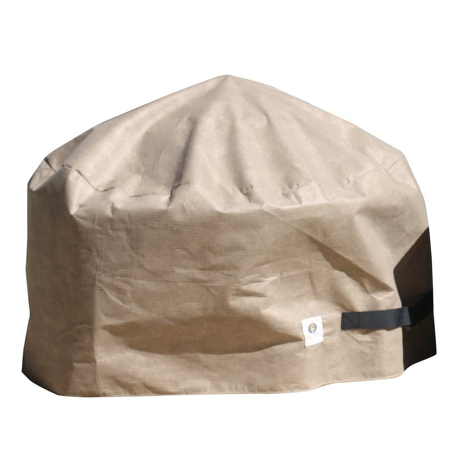 Duck Covers Elite 20-in Cappuccino Round Firepit Cover