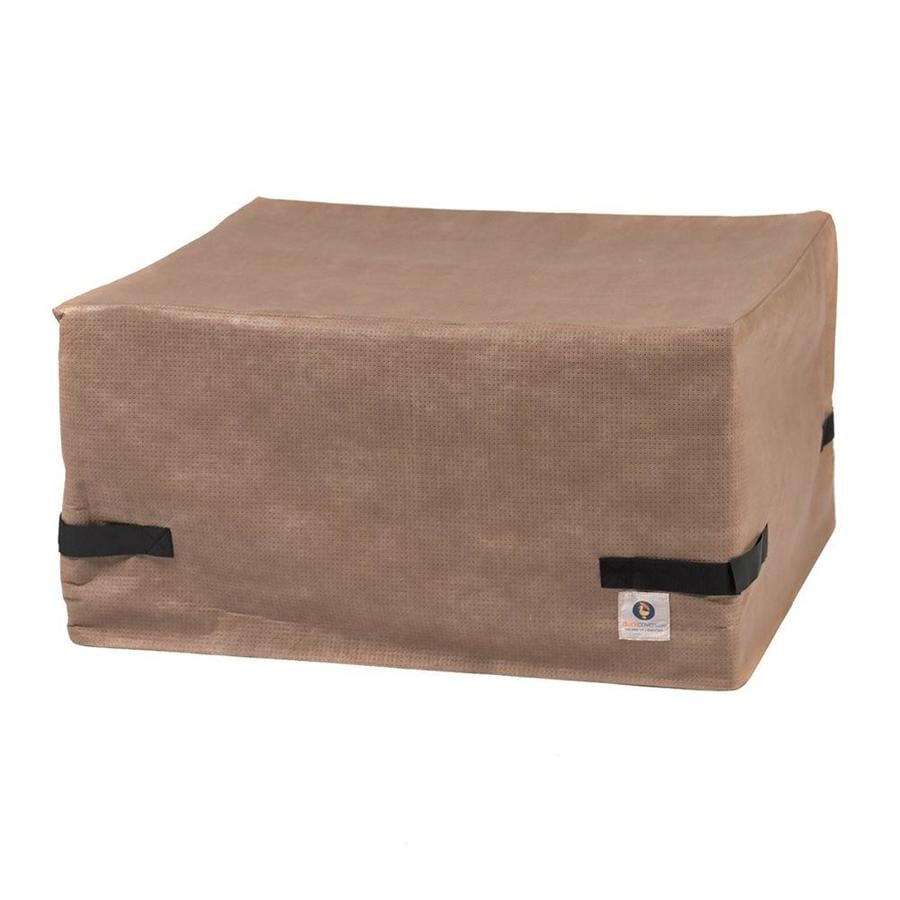 Duck Covers Elite 20-in Cappuccino Square Firepit Cover