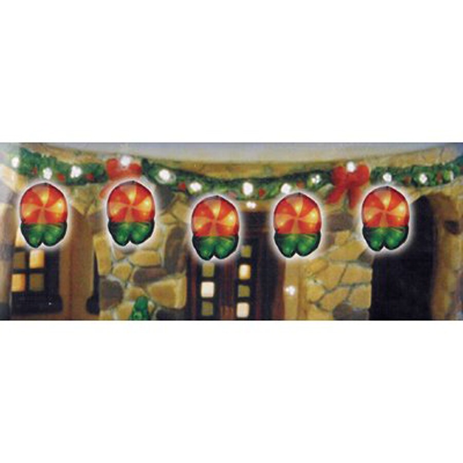 String Lights No Plug : Shop Christmas Central 10-Count Indoor/Outdoor Constant Multicolor Plug-in Mini Copper Wire ...