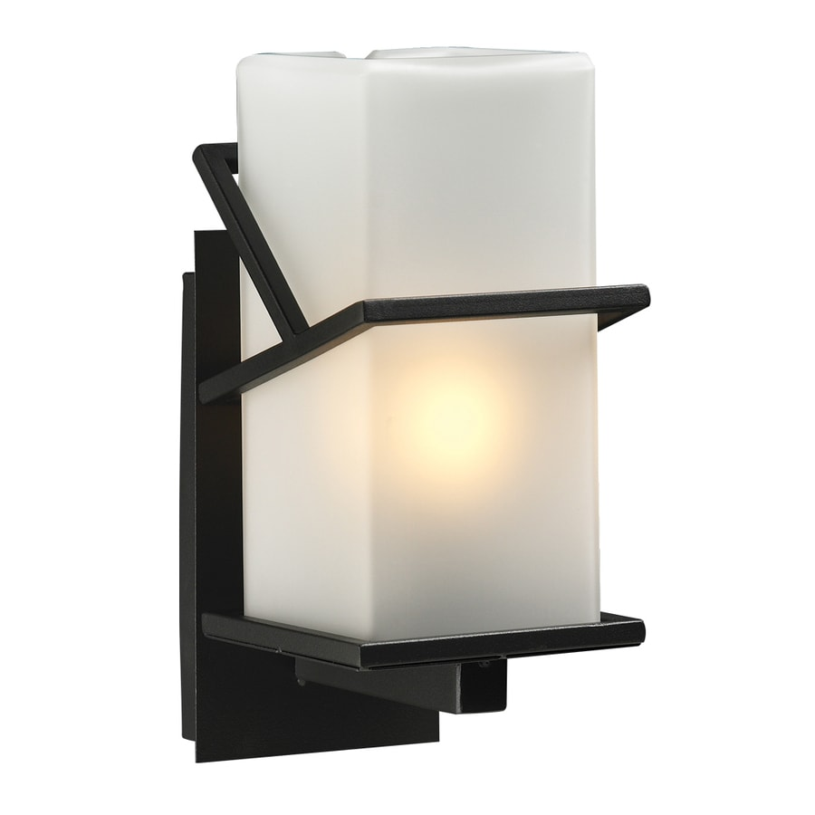 PLC Lighting Oxford 12.5-in H Bronze Outdoor Wall Light