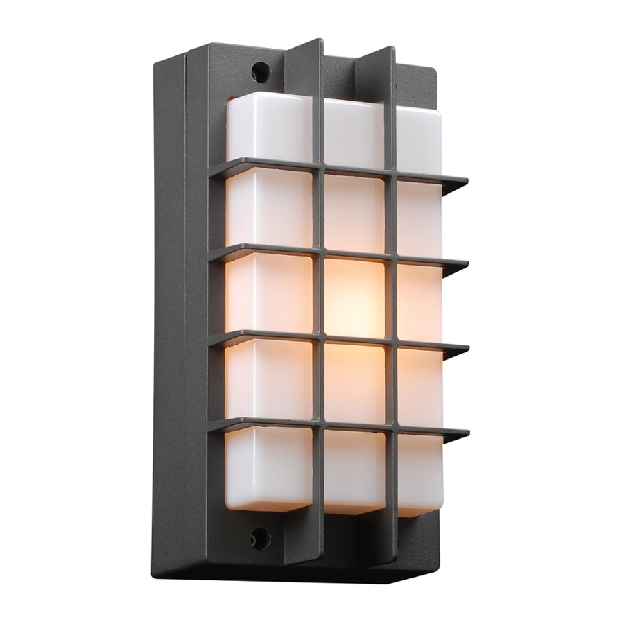 PLC Lighting Lorca 10.5-in H Bronze Outdoor Wall Light