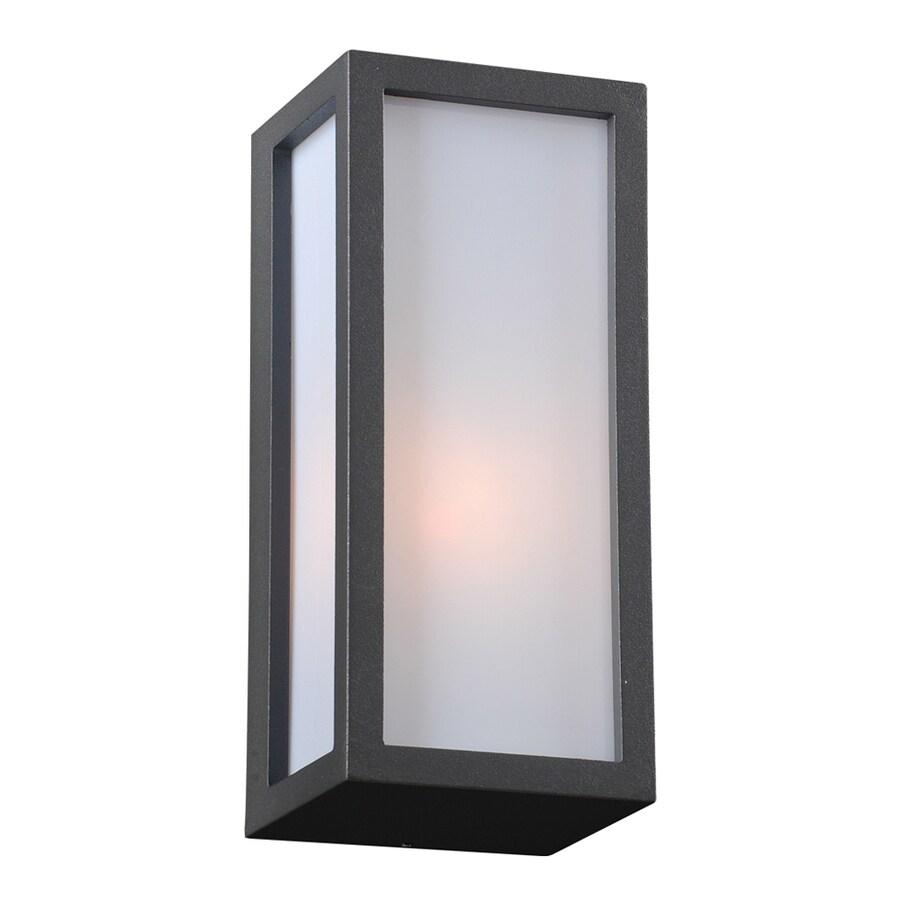 PLC Lighting Dorato 9.75-in H Bronze Outdoor Wall Light