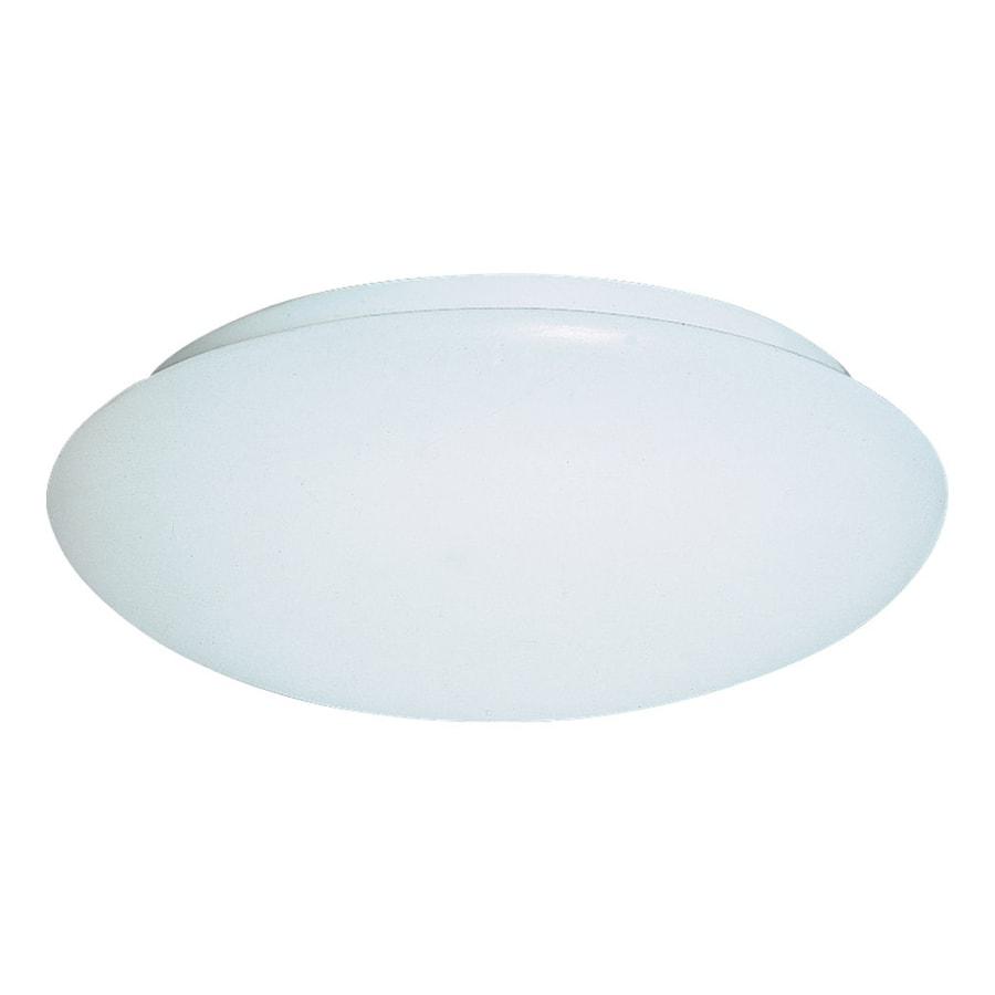 Sea Gull Lighting Holly White Ceiling Fluorescent Light ENERGY STAR (Actual: 1-ft 0-in)