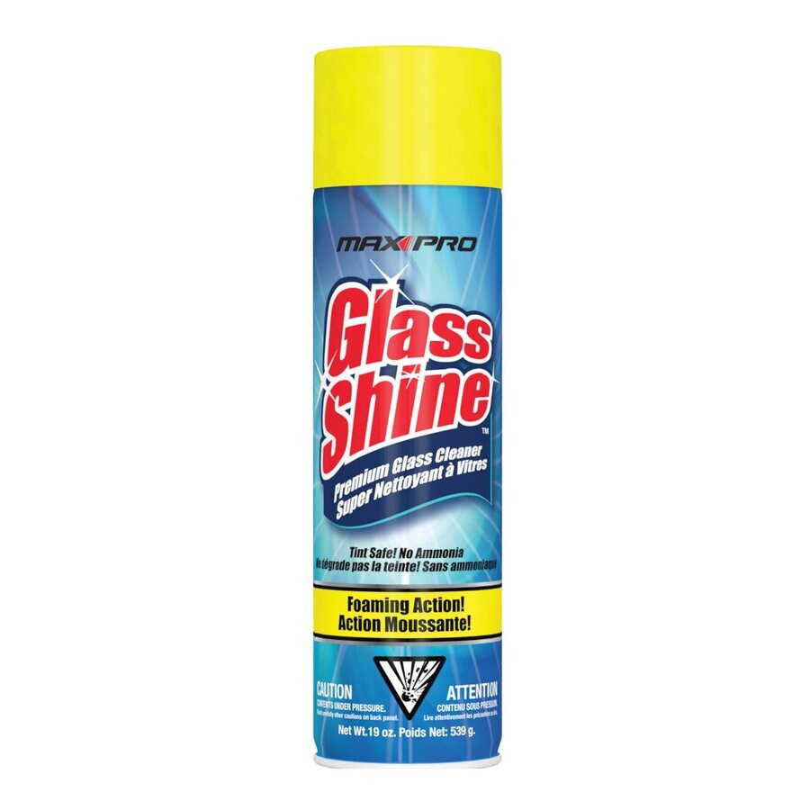 Max Professional Glass Shine 19-fl oz Glass Cleaner