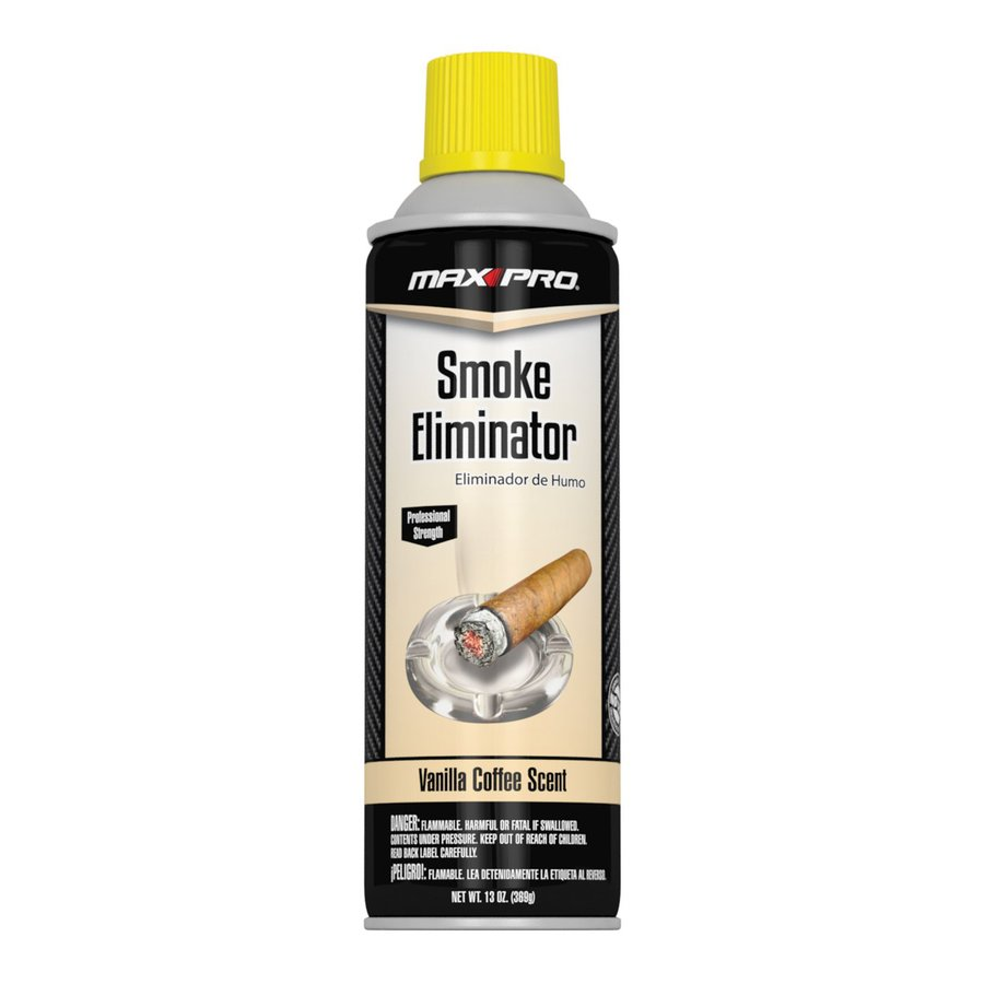 Max Professional Smoke Eliminator Vanilla Coffee Air Freshener Spray