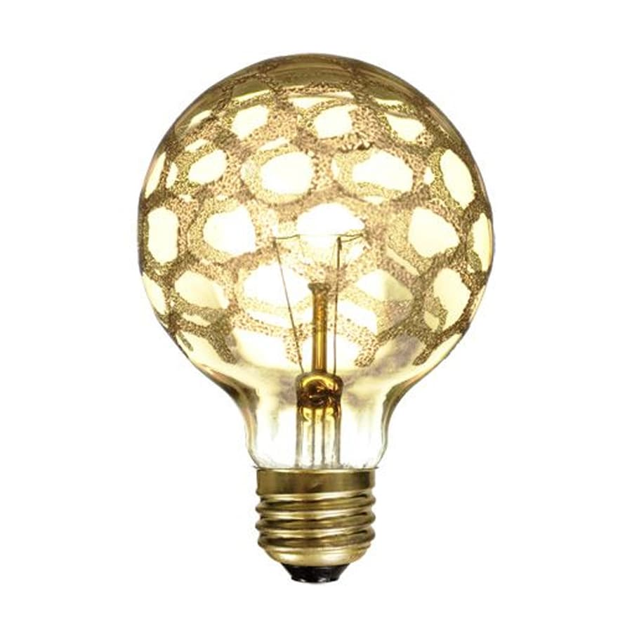 Shop Cascadia Lighting Crystal 3 Pack 40 Watt G25 Medium Base E 26 Dimmable Outdoor