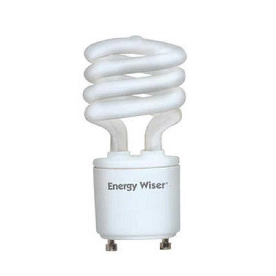 Cascadia Lighting Energy Wiser 2-Pack 13-Watt (40W Equivalent) 2,700K T3 GU24 Pin Base Warm White Dimmable CFL Bulb