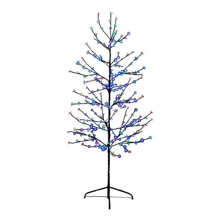 Pre Lit Multicolor Christmas Tree