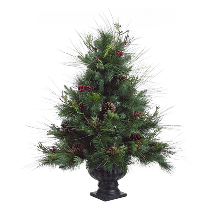 Northlight Allstate 3-ft Artificial Christmas Tree with Pinecones and Berries